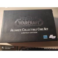 WOW Alliance Collectible Coin Set Limited Edition BLIZZARD Blizzcon