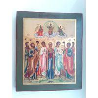 Икона. Вознесение Господне. 19 век.