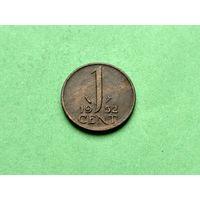 1 цент 1952 года