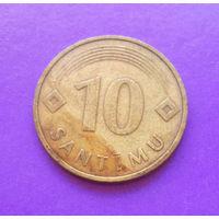 10 сантимов 1992 Латвия #01