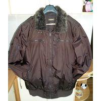 Куртка демисезонная с воротником XL
