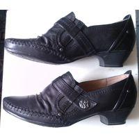 Туфли женские натуральная (Германия) размер 40