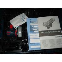 BOSCH GWS 10,8 Professional Болгарка аккумуляторная+L-BOXX