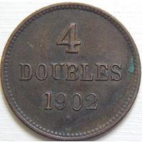 8. Гернси 4 дубля 1902 год. Эдвард-8