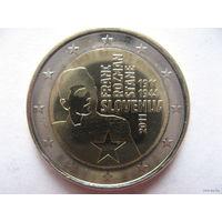 Словения 2 евро 2011г. 100 лет со дня рождения Франца Розмана - Стане. (юбилейная) UNC!
