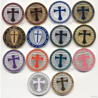 Орден Тамплиеров 14 видов монет