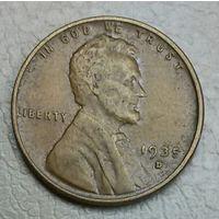 США 1 цент 1935D