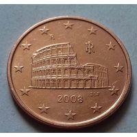 5 евроцентов, Италия 2008 г.