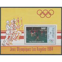 Верхняя Вольта олимпиада 1984г.
