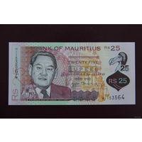 Маврикий 25 рупий 2013 UNC