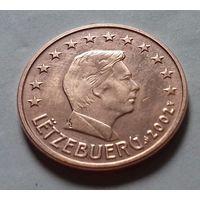 5 евроцентов, Люксембург 2002 г.