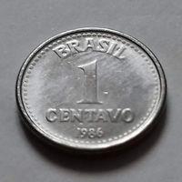 1 сентаво, Бразилия 1986 г., AU