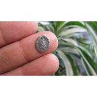 Католический медальон Ag