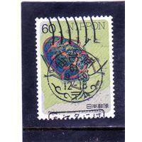 Япония. Mi:JP 1692. Жук Клоун Вонк (Poecilocoris lewisi). Серия: Насекомые. 1986.