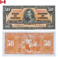 [КОПИЯ] Канада 50 долларов 1937г.