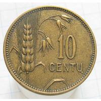 Литва 10 центов 1925 (2-229)