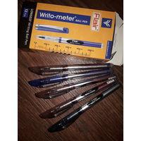 Ручка Flair writo-meter синяя 5 штук