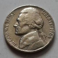5 центов, США 1964 г.