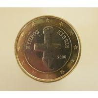 Кипр 1 евро 2008 г.