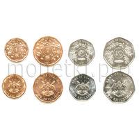 Уганда 4 монеты 1987 года.