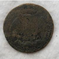 ВА , Гвардия , Франция   по 1812 году  , большая  пуговица ,