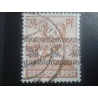 Германия 1948 надпечатка Бизония 24 пф.