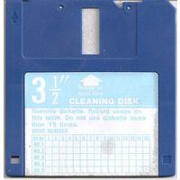Чистящая дискета FDD 3,5