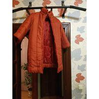 Куртка на девочку (теплая)