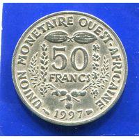 Западная Африка 50 франков 1997