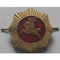 Кокарда Литовских пожарных после 1991