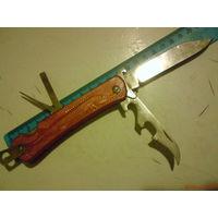 Нож рыбацкий с чехлом СССР