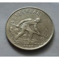 1 франк, Люксембург 1953 г