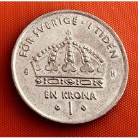 100-22 Швеция, 1 крона 2003 г.