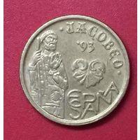 Испания 5 песет, 1993, Год Святого Иакова