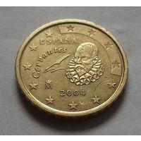 10 евроцентов, Испания 2004 г.