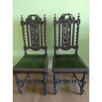 Комплект  из 4 старых стульев.