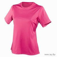 Фирменная футболка Quechua, р.42 (цвет бледно-розовый)
