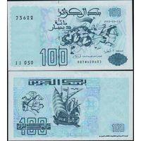 Алжир. 100 динаров 1992. [UNC]