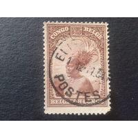 Конго 1931 колония Бельгии туземец