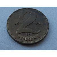 2 форинта Венгрия 1971 г.в. KM# 591, 2 FORINT, из коллекции