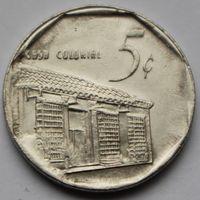 5 сентаво 2002 Куба.