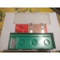 Набор к магнитофону. Для склейки магнитной или ракордной ленты.