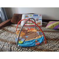 Развивающий коврик Baby Mix, без подвесных игрушек, постиран, в отличном состоянии.