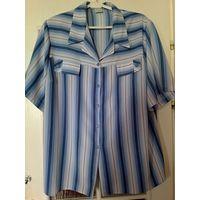 Фирменная рубашка, новая, на р-р 62-64