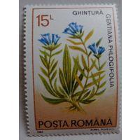 Румыния.1993.цветы