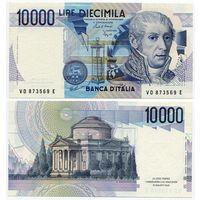 Италия. 10 000 лир (образца 1984 года, P112b, aUNC)