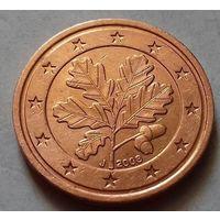 2 евроцента, Германия 2008 J