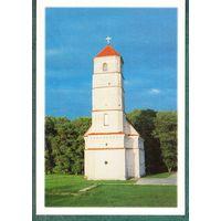 БЕЛАРУСЬ 1998 г. открытка Преображенская  церковь  в  Заславле