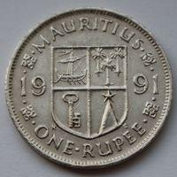 Маврикий 1 рупия, 1991 г.