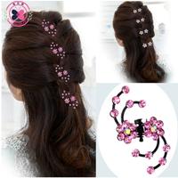 Симпатичные крабики для волос, цена указана за к-т 6шт.